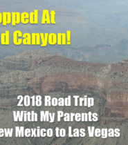 2018 Road Trip With My Parents New Mexico to Las Vegas | VLOG 032