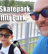 Taking My Nephew To A Houston Skatepark and Graffiti Park | VLOG 031