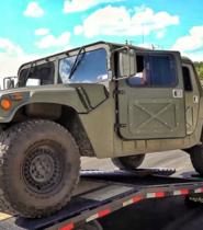 Goodbye Humvee, Hello New Barn!