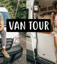 OFFICIAL VAN TOUR | Our New Tiny Home