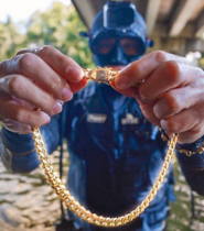 What Will I Find Scuba Diving Under URBAN Bridge?! (Huge Gold Necklace)