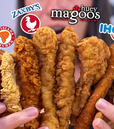 7 Days ONLY EATING Chicken Tenders