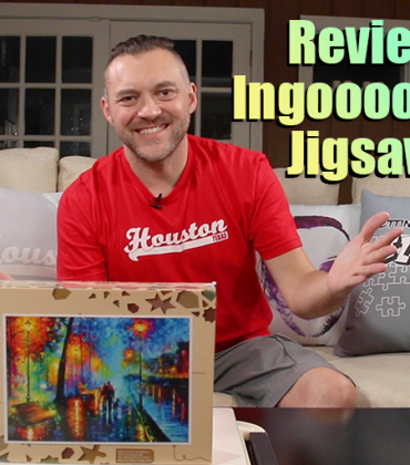 Reviewing An Ingooood Wooden Jigsaw Puzzle | VLOG 050