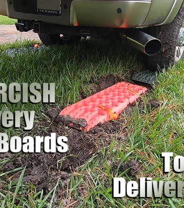 Using ORCISH Recovery Traction Boards To Take Delivery Of My RV | VLOG 047