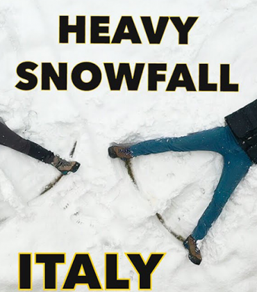 HEAVY SNOWFALL hit Italy // LIFE IN THE COTTAGE – STUCK in the Italian Alps